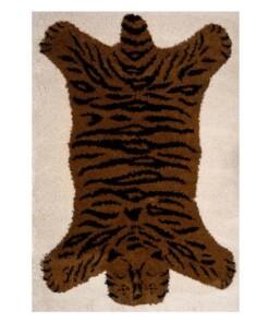Kinderkleed Tijger Lewis - bruin/zwart - overzicht boven, thumbnail