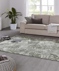 Design vloerkleed Charante Elle Decoration - crème/groen - sfeer, thumbnail