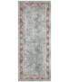 Oosters vloerkleed Maschad Elle Decoration - goud - overzicht boven, thumbnail