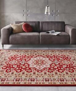 Perzisch tapijt Parun Täbriz - rood - sfeer, thumbnail