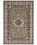 Perzisch tapijt Parun Täbriz - grijs - overzicht boven, thumbnail