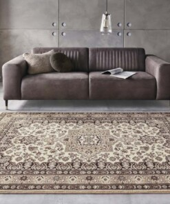 Perzisch tapijt Parun Täbriz - beige - sfeer, thumbnail