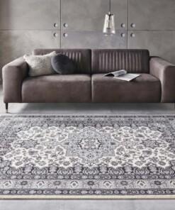 Perzisch tapijt Parun Täbriz - grijs - sfeer, thumbnail