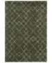 Hoogpolig vloerkleed Archer - crème/zwart - overzicht boven, thumbnail