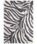 Hoogpolig vloerkleed Desert - beige/crème - overzicht boven, thumbnail