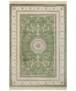 Klassiek vloerkleed Antik Negar - donkerblauw - overzicht boven, thumbnail