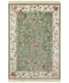 Klassiek vloerkleed Oriental Flowers - crème - overzicht boven, thumbnail