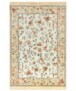 Klassiek vloerkleed Oriental Flowers - groen - overzicht boven, thumbnail