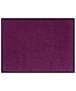 Effen deurmat Plain wasbaar 30°C - zwart - overzicht boven, thumbnail