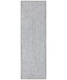 Effen loper Fineloop Comfort - lichtgrijs - overzicht boven, thumbnail