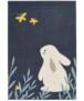 Kinderkamer vloerkleed Bunny Lottie - crème - overzicht boven, thumbnail