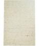 Wollen vloerkleed handweef Veve - beige/grijs - overzicht boven, thumbnail
