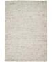 Wollen vloerkleed handweef Sau - grijs - overzicht boven, thumbnail