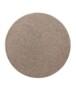 Rond effen vloerkleed Qualis - roze - overzicht boven, thumbnail