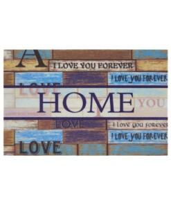 Deurmat Home & Love - multi - overzicht boven, thumbnail
