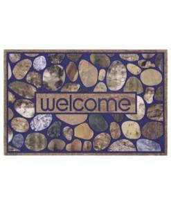 Deurmat Welcome Stones - multi - overzicht boven, thumbnail