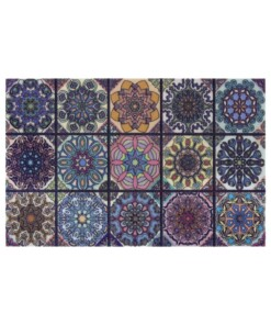 Deurmat Colorful Creations - multi - overzicht boven, thumbnail