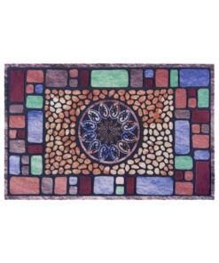 Deurmat Mosaic Wonders- multi - overzicht boven, thumbnail