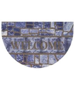 Deurmat halfrond Welcome Tiles - multi - overzicht boven, thumbnail
