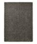 Hoogpolig vloerkleed effen Spectrum - mosterdgeel - overzicht boven, thumbnail