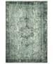 Vintage vloerkleed Atticus - donkerblauw - overzicht boven, thumbnail