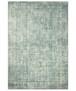 Vintage vloerkleed Perceval - grijs - overzicht boven, thumbnail