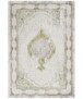 Modern oosters vloerkleed Alain - zilver/goud - overzicht boven, thumbnail