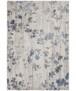 Modern vloerkleed Maceo - zilver/turquoise - overzicht boven, thumbnail