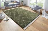 geometrische hoogpolige vloerkleden