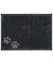 Deurmat Paws Wasbaar 30°C - grijs - overzicht boven, thumbnail