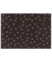 Deurmat Paws Prints Wasbaar 30°C - antraciet - overzicht boven, thumbnail