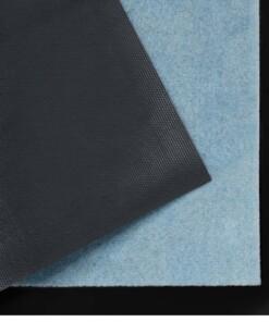 Deurmat Lucky Cat Wasbaar 30°C - lichtblauw - close up