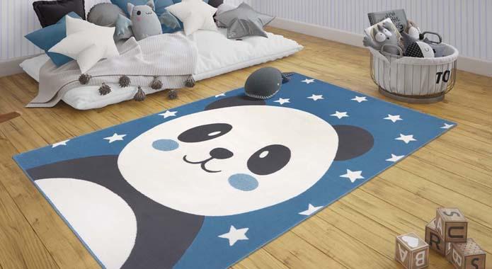 beer vloerkleed panda