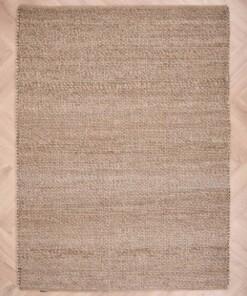 Wollen vloerkleed Lett - beige